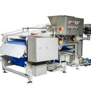Belt press 1500 for pressing juice from fruits, berries and vegetables