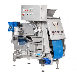 Belt press for fruit, berry and vegetable processing