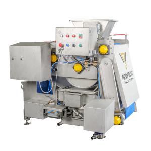 Belt press 400 for fruit processing